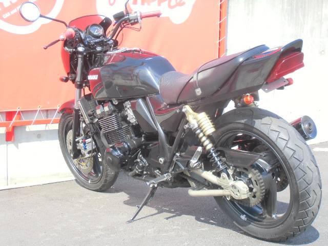 カワサキ ZRX400 ノーマル ブラックの画像(群馬県
