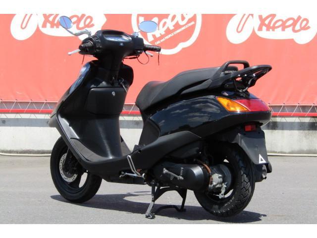 ホンダ スペイシー100 ブラック グリップヒーター装備の画像(群馬県