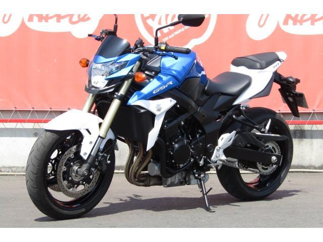 スズキ GSR750 ABS MOTOMAP逆車の画像(群馬県