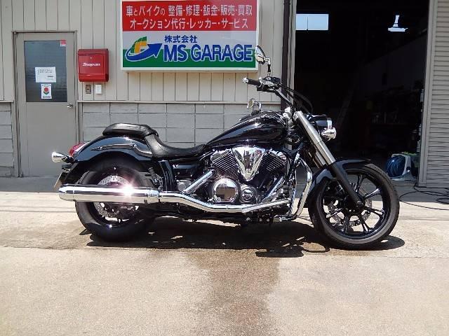 ヤマハ XVS950A ミッドナイトスター サイドバッグの画像(群馬県