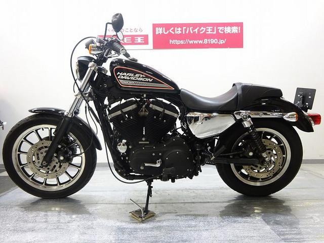 HARLEY-DAVIDSON XL883R カスタムシート・メッキパーツ付きの画像(栃木県