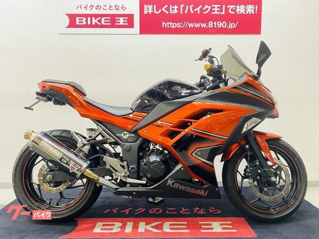 Ninja 250SE 2014年モデル モリワキサイレンサー