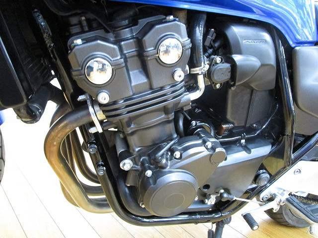 ホンダ CB400Super ボルドール グリントウェーブブルーメタリックの画像(群馬県