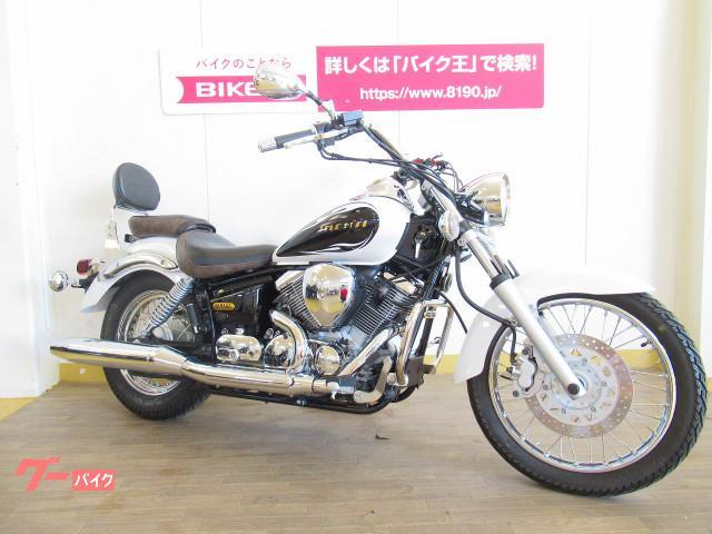 ヤマハ ドラッグスター250 最終型 バックレスト装備の画像(群馬県