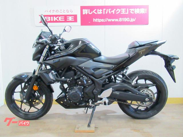 ヤマハ MT-03(320cc) ヘルメットホルダー装備の画像(群馬県