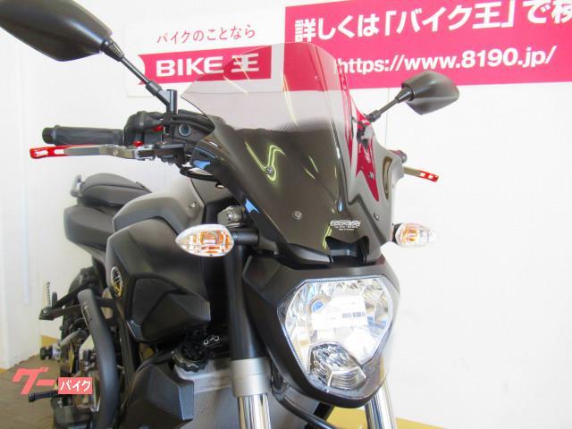 ヤマハ MT-07 オーバーバックステップ プラナスサイレンサー装備の画像(群馬県