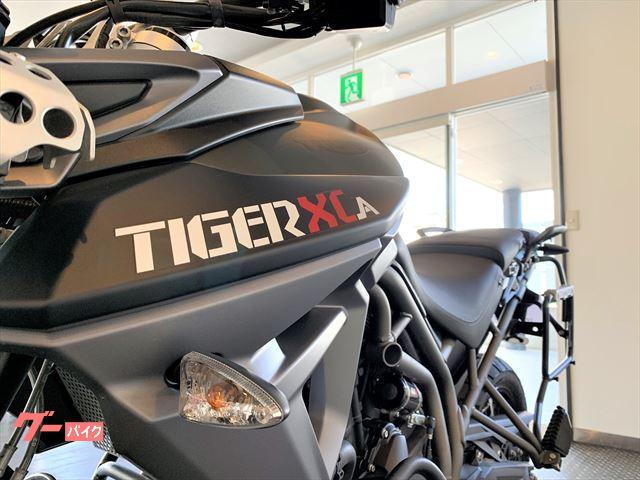 TRIUMPH タイガー800XCA マットカーキグリーンの画像(茨城県