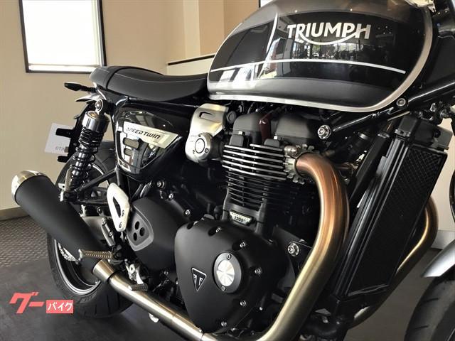 TRIUMPH スピードツイン シルバーアイス ストームグレー 新車の画像(茨城県