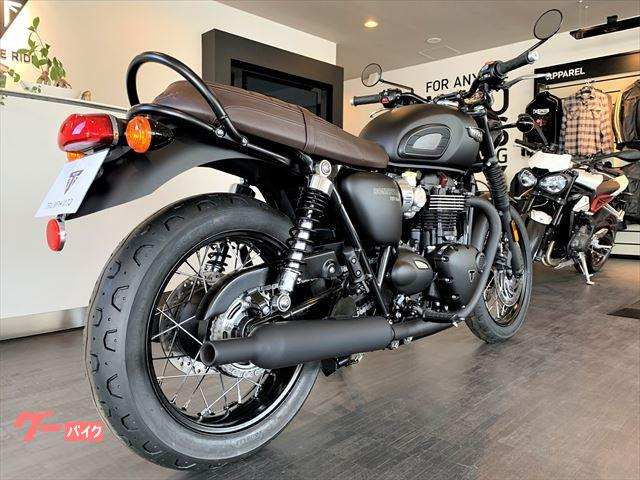 TRIUMPH ボンネビルT120ブラック マットブラック 新車の画像(茨城県