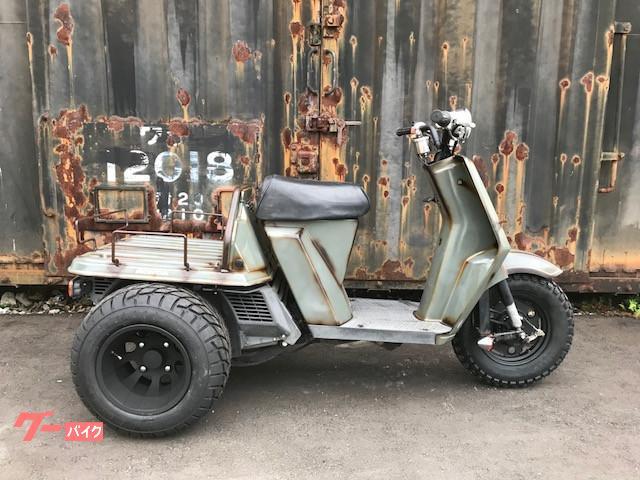 ホンダ ジャイロUP ミニカー仕様 ラッド塗装仕上げの画像(北海道