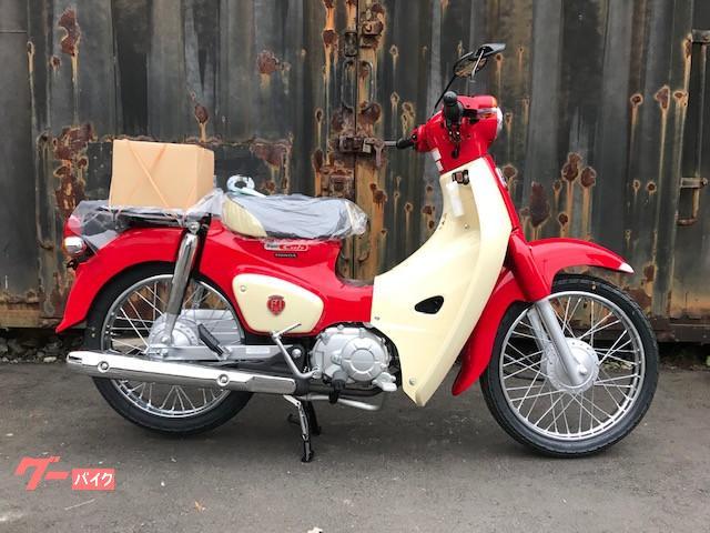ホンダ スーパーカブ110 60周年記念モデルの画像(北海道