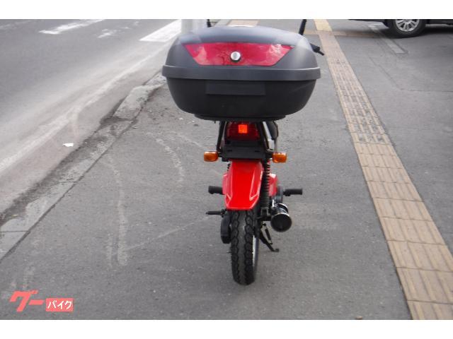 ヤマハ ポップギャル セル付き YT60純正シリンダー 59cc 純正前後オプションキャリア バッテリーNEWの画像(北海道