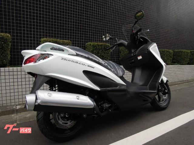 スズキ バーグマン200 2020モデルの画像(東京都