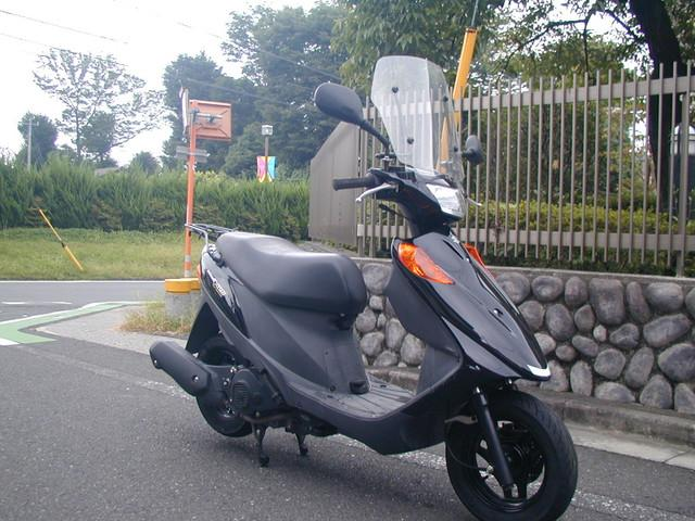 スズキ アドレスV125  リヤタイヤ新品 バッテリー新品の画像(埼玉県