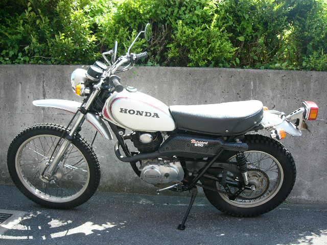 ホンダ SL250Sの画像(千葉県