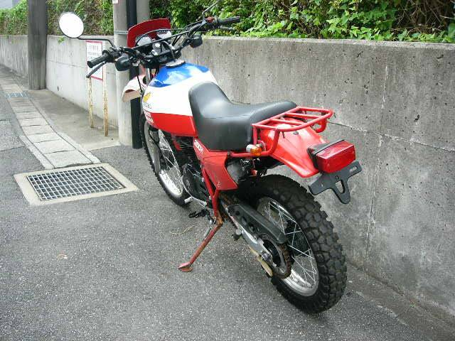 ホンダ XL250Rパリダカの画像(千葉県