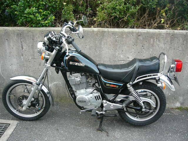 スズキ GN400の画像(千葉県