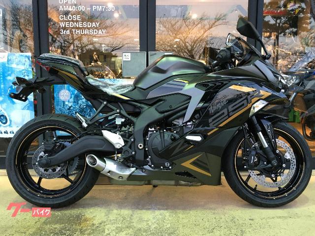 Ninja ZX−25R SE 2022年モデル新色
