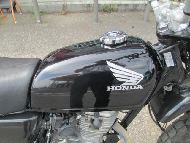 ホンダ Ape FI ブラック 前後タイヤ新品の画像(茨城県