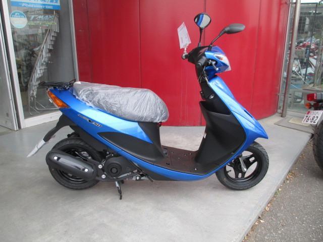 アドレスV50 最新モデル 新色ブルー
