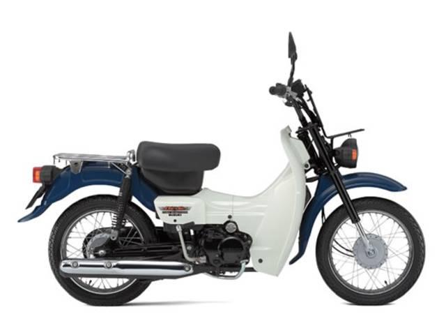 スズキ 4サイクルバーディー50 最新モデル セル付きモデルの画像(東京都