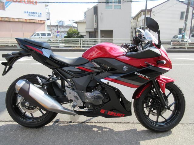 スズキ GSX250R 最新モデル 日本仕様モデルの画像(東京都