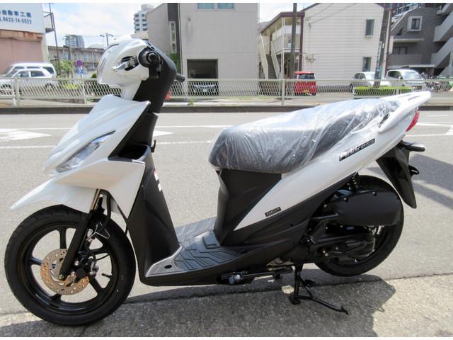スズキ アドレス110 最新モデルの画像(東京都