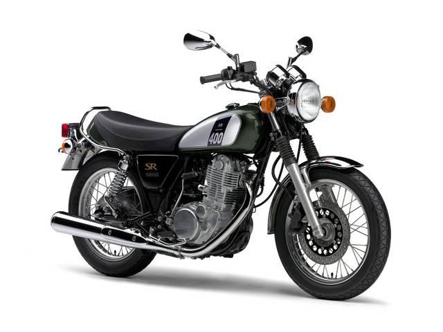 ヤマハ SR400 現行モデルの画像(神奈川県
