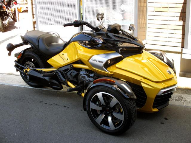 BRP can-am SPYDER F3-S 2018モデルの画像(神奈川県
