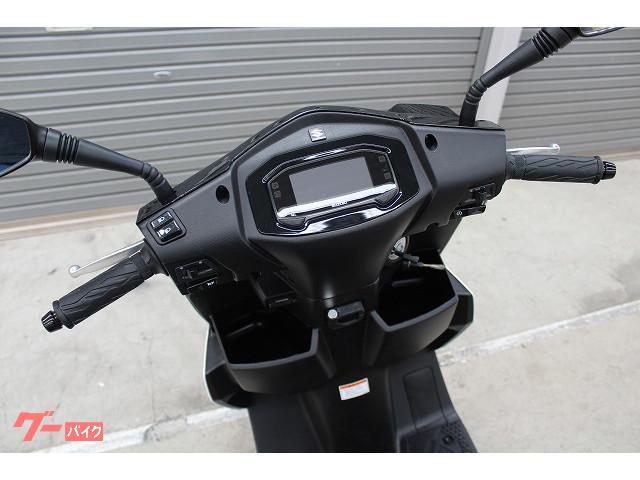 スズキ SWING125 リアBOX標準装備 国内未発売モデルの画像(埼玉県