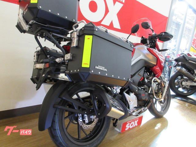 ホンダ CB190X 3点パニア標準装備 国内未発売モデルの画像(埼玉県