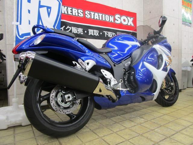 スズキ GSX1300Rハヤブサ 国内仕様 ETC純正装備の画像(東京都