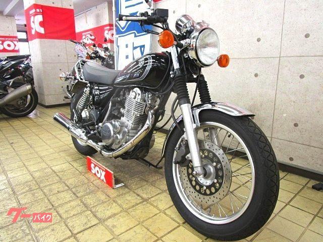 ヤマハ SR400 インジェクションモデル リアキャリア装備の画像(東京都