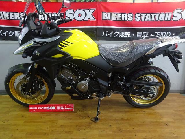 スズキ V-ストローム650XT ABS 新車の画像(栃木県