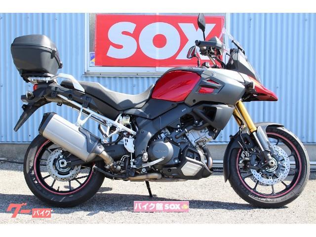 V−ストローム1000 ABS トップケース