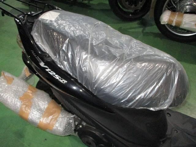 スズキ アドレスV125S ブラックの画像(茨城県