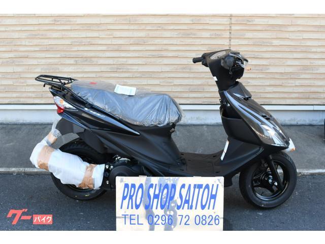 スズキ アドレスV125S ブラックメタリックの画像(茨城県