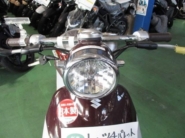 スズキ レッツ4パレット日本製ブラウンの画像(茨城県