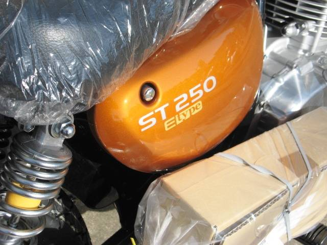 スズキ ST250 Eタイプ オレンジJGSの画像(茨城県