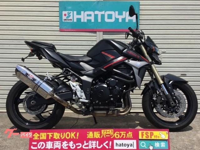 GSR750 ABS   ヨシムラマフラー ETC2.0  フェンレス仕様
