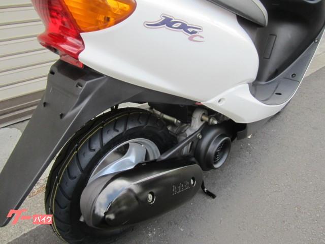 ヤマハ JOG C ワンオーナー純正スペアキー取説 タイヤ駆動系他消耗品交換の画像(東京都