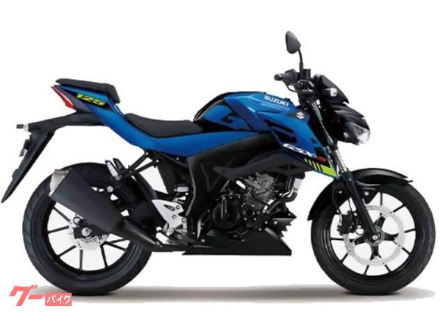 GSX−S125 国内M1モデル ブルー