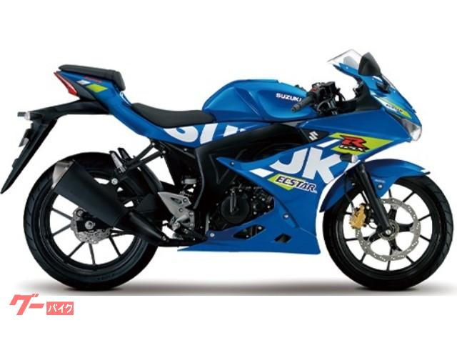 GSX−R125 国内M1モデル ブルー