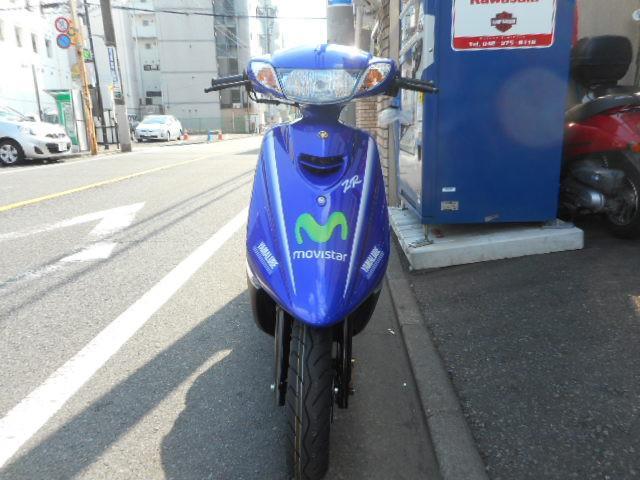 ヤマハ JOG ZR モビスターヤマハ モトGPエディション 最新型の画像(東京都