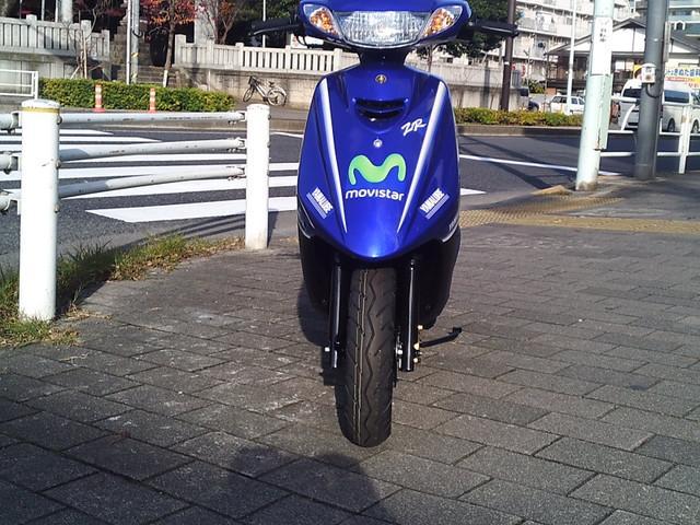 ヤマハ JOG ZR '17 モビスターヤマハモトGPエディションの画像(東京都