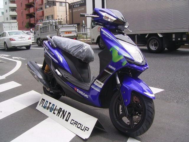 ヤマハ シグナスX SR モビスターカラーの画像(東京都