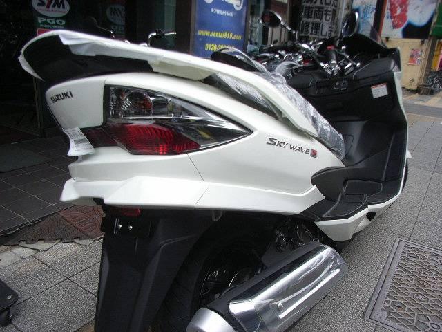 スズキ スカイウェイブ250 タイプSベーシックの画像(東京都