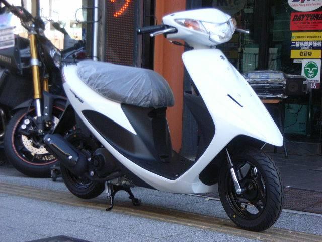 スズキ アドレスV50 SEPエンジン搭載 最新モデルの画像(東京都