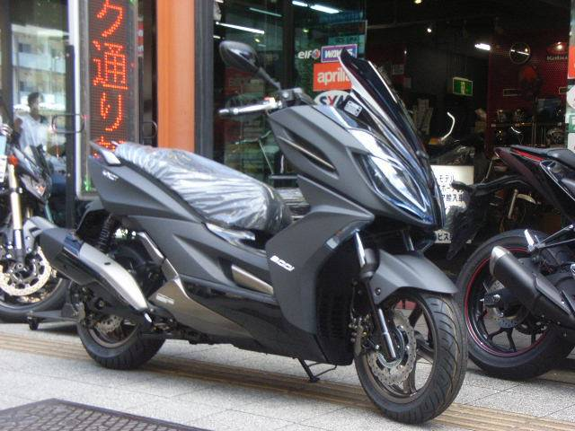 KYMCO K-XCT300 正規輸入車 最新型の画像(東京都