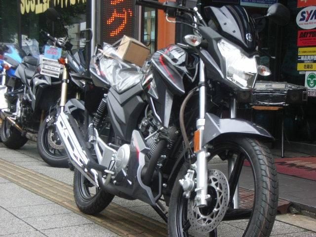 ヤマハ YX125DX・フェザー125Fiの画像(東京都
